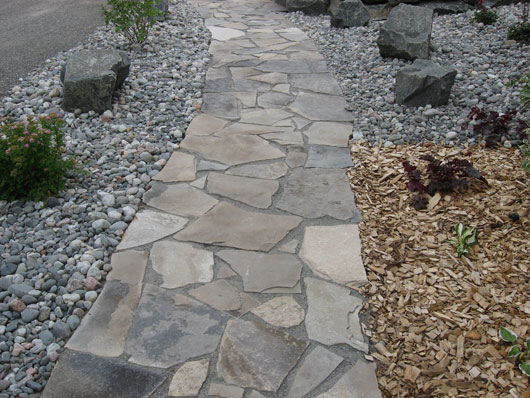 Flagstone Walkways 187 Artistic Landscaping Thunder Bay Ltd